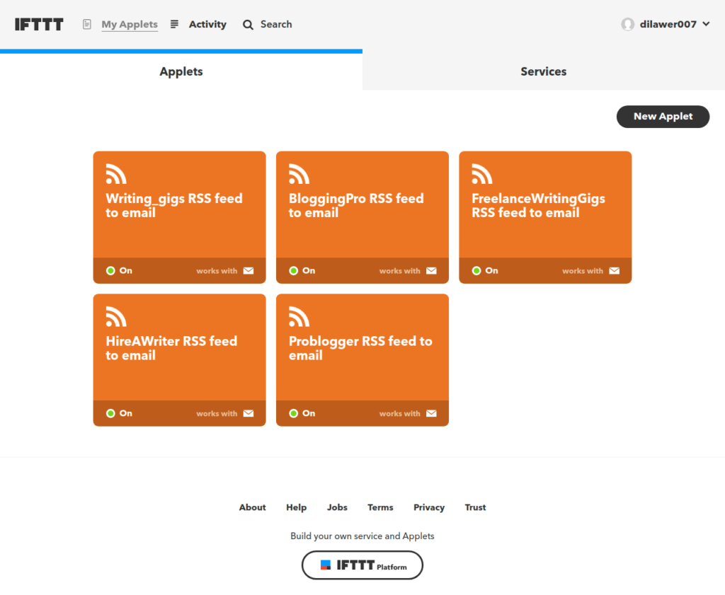 How to use IFTTT